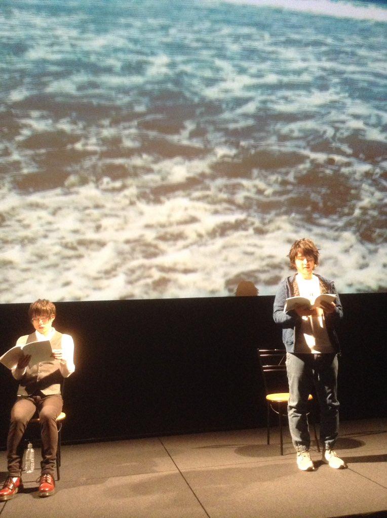 朗読劇「LOVE×LETTERS」に、寺島惇太が小松昌平さんと出演させて頂きました。3つの結末、、全てが深く愛に溢れた素敵な作品です。ご覧頂いた皆様、有難う御座いました。明日も宜しくお願い致します。👬🙇🙇#寺島惇太