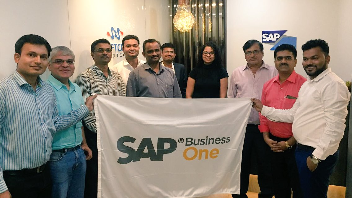 @SoftCoreSAPB1 team conducted CSR workshop in #Thane with #SME customers to discuss on how #SAPBusinessOne #ERP can help them to run #GST compliant &amp; grow the business; @NileshKhutale @MangeshSapB1 #SAP <br>http://pic.twitter.com/zFuPDOCPDG