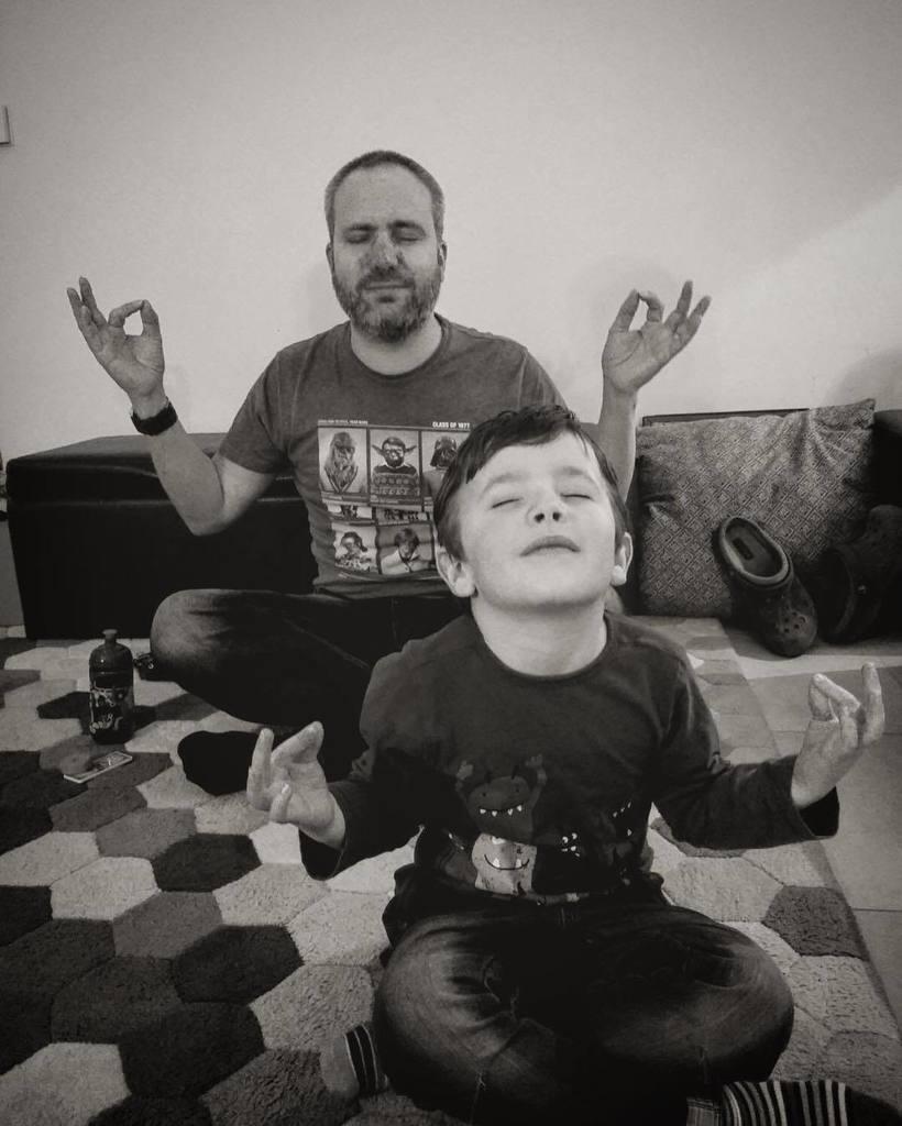And relax....... #yoga #prouddad . . #relax #chillin #breathe #fatherandson #dadlife #parenting #fatherhood #meditation #lotus #om #beginnersyoga #workingonit #myboy #instakids #instafun #instadad #instafamily #instayoga  http:// ift.tt/2jFMG7G  &nbsp;  <br>http://pic.twitter.com/rCWMpuqCjP