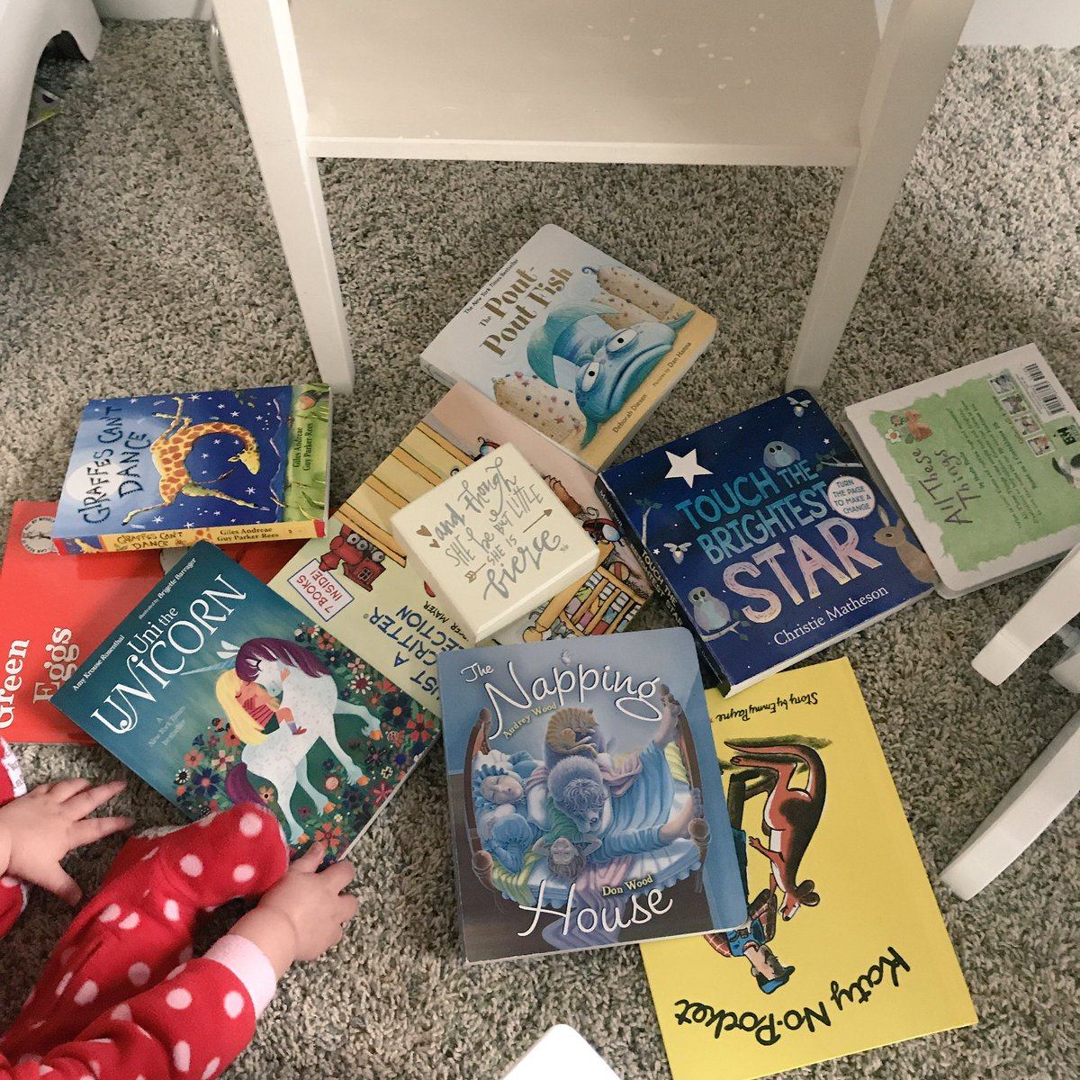 I would liken my 10x daily experience of putting baby books back on the shelf to that of Sisyphus pushing the rock up the hill in Tartarus. It&#39;s futile.   #momlife <br>http://pic.twitter.com/B3vw2uLyzf