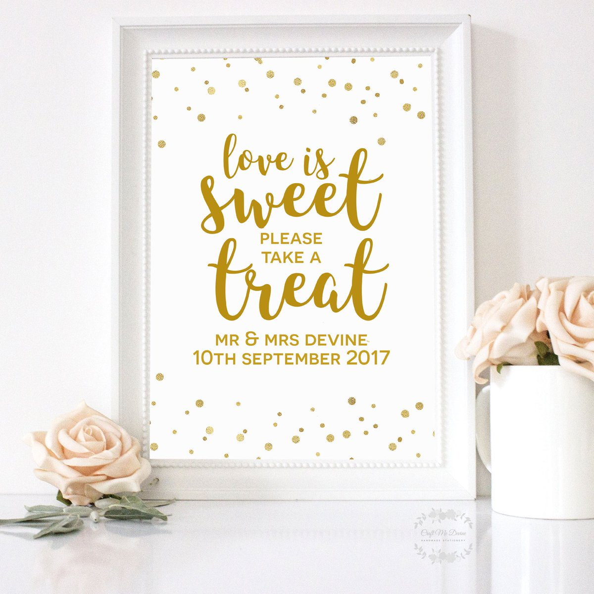 Pop on over to my Facebook page where you can win THREE wedding signs of your choice!  http:// Facebook.com/CraftMeDevine  &nbsp;     #crafturday #weekend  #saturdaymorning #onlinecraft #oldhamhour #atsocialmedia #wedding #flockbn #uksopro<br>http://pic.twitter.com/FnDEqxQzFb