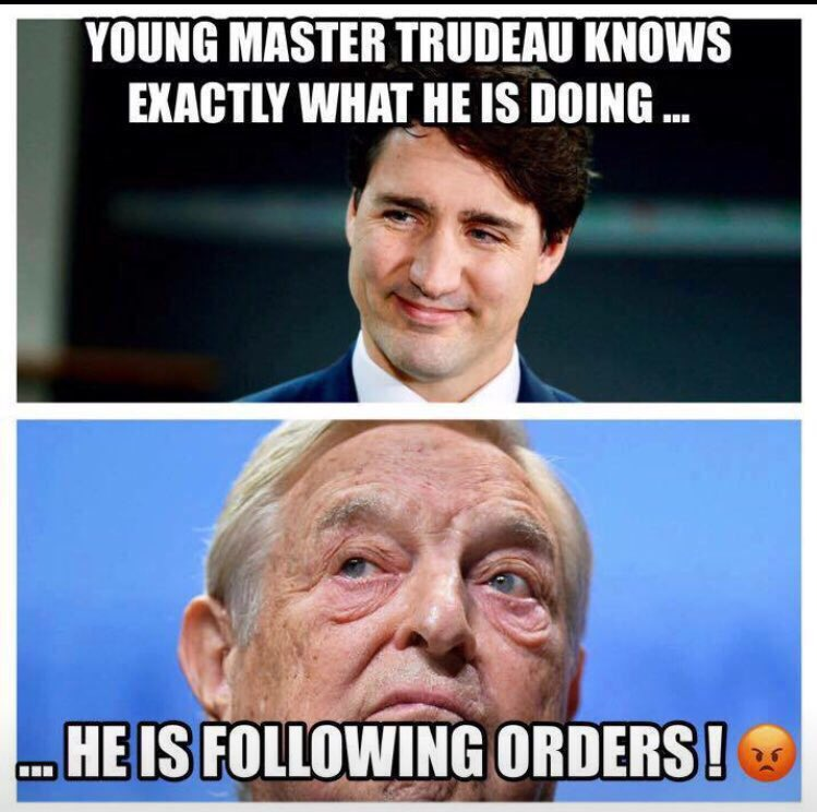 North Americans snooze and will soon lose the Whole Continent to The Globalist Takeover being run by their Billionaire Bagman #SOROS and his PUPPET GLOBALIST GOLDEN BOY #TRUDEAU &amp;They are DOING it From Canada RIGHT under North America&#39;s NOSE! #Justice @POTUS<br>http://pic.twitter.com/LaEet1MVcM