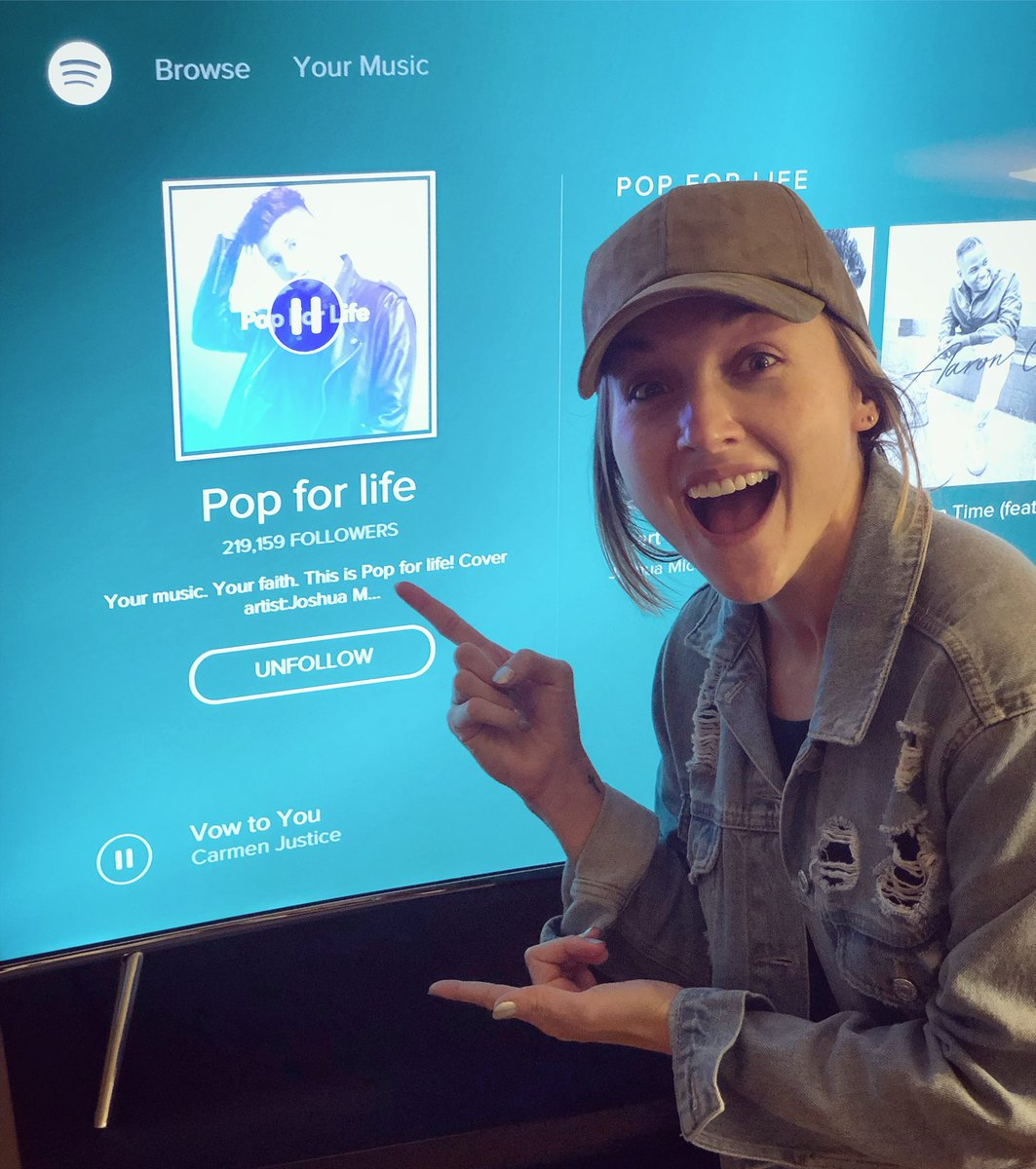 Carmen Justice On Twitter Thanks John Butler For Adding Vow To You Spotify S Popforlife Playlist N Away Be Featured Alongside Some