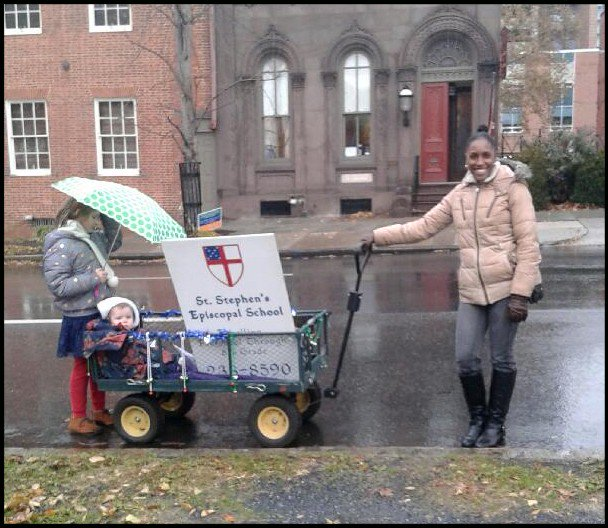 Fun in the rain at Harrisburg's #HolidayParade festivities - thanks to all who joined us today
