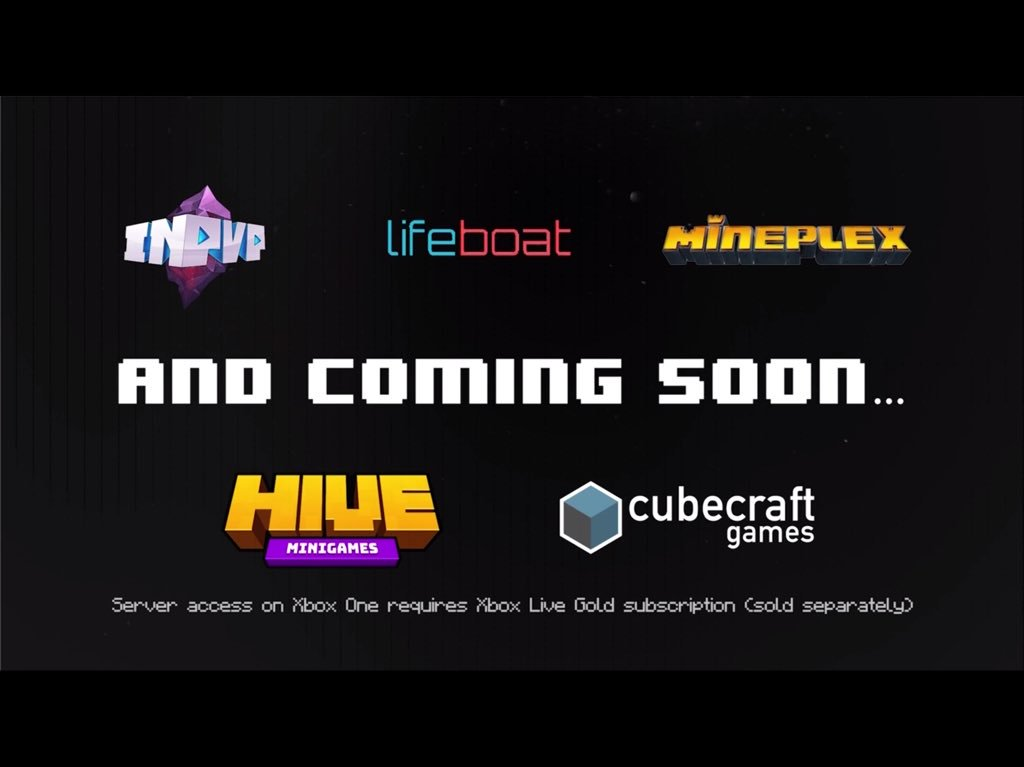 Mr Enderman On Twitter New Servers Coming To Minecraft