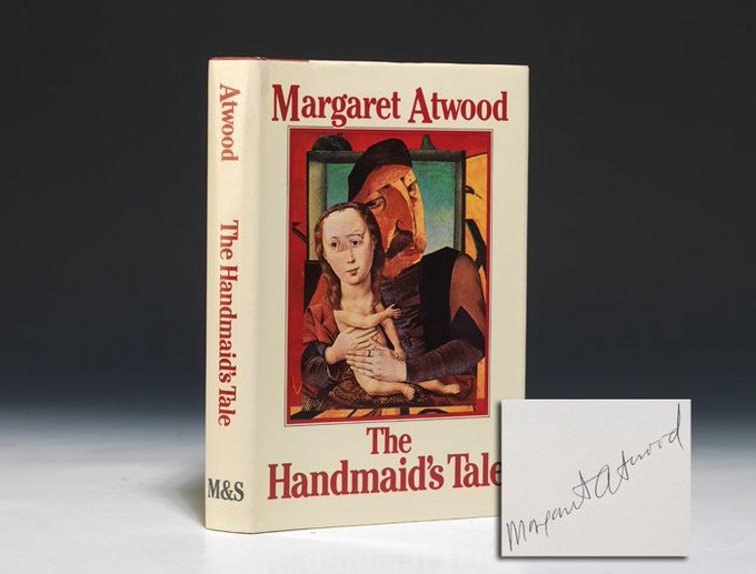 Happy 78th Birthday to Margaret Atwood!