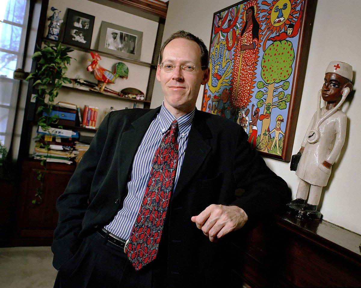 Physician Dr. Paul Farmer co-founder @PI...