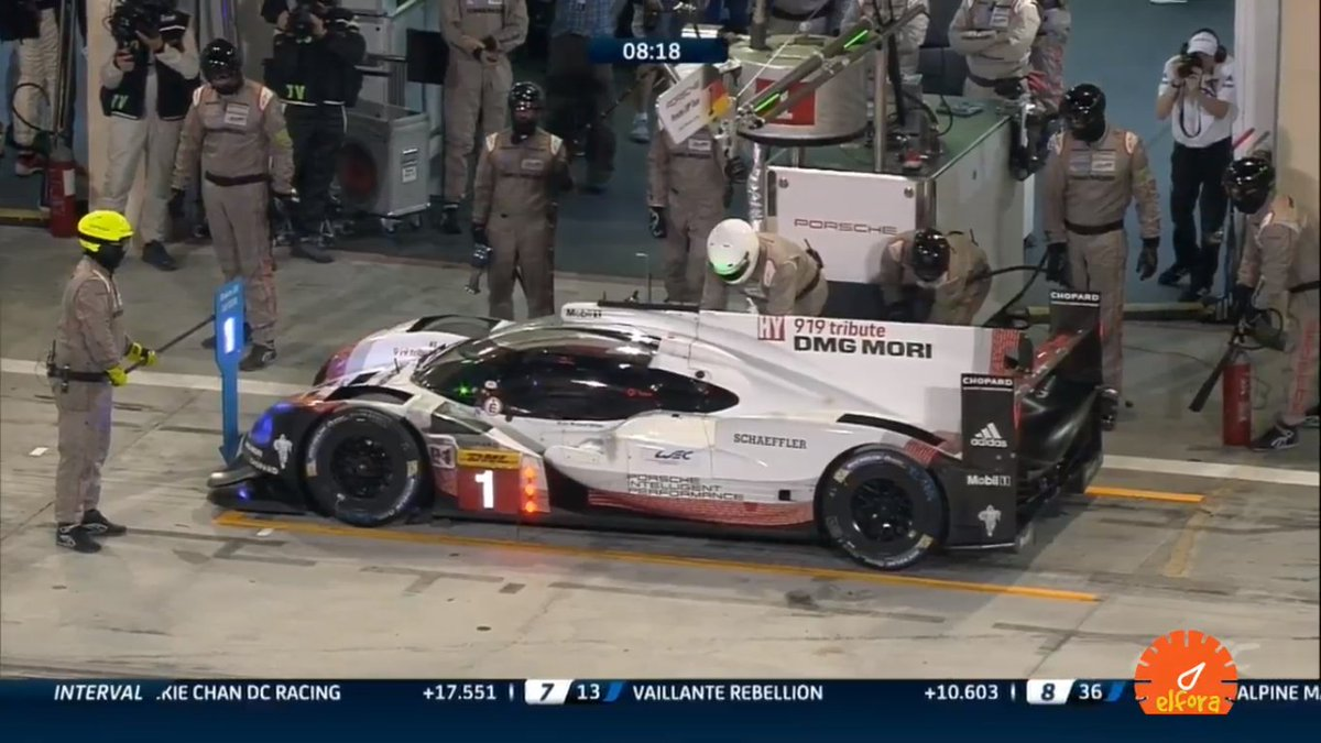 @Andre_Lotterer and @Porsche_Team do the very last pitstop in the @FIAWEC history  #6hBahrain #WEC #ChampionshipFinale #Porsche #porsche919 <br>http://pic.twitter.com/1GUBeJIxOX