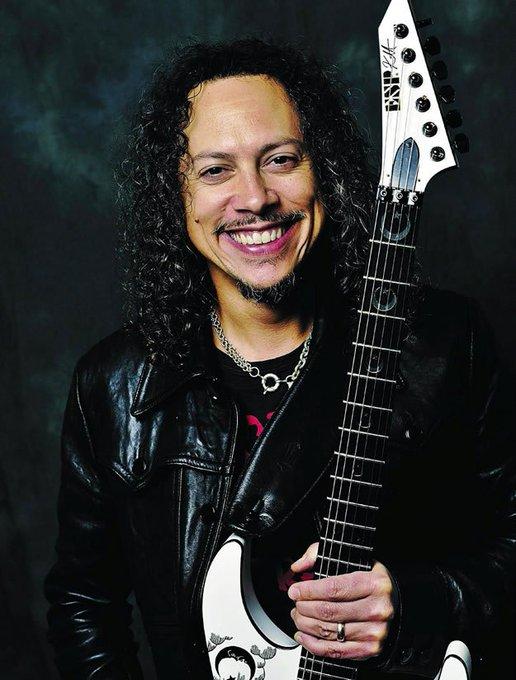 Happy Birthday Kirk Hammett