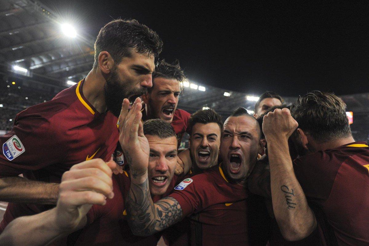 Nainggolan-Perotti, Derby e sorpasso: Roma-Lazio 2-1, 1° volta senza Totti | Calcio Serie A