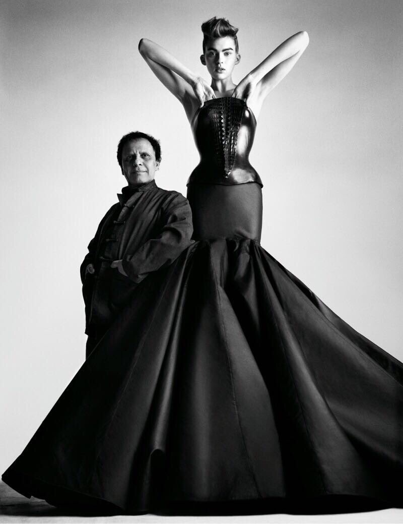 A sad day. Rest in peace #azzedinealaia ...You were a true master and one of my biggest inspirations 🙏 x VB