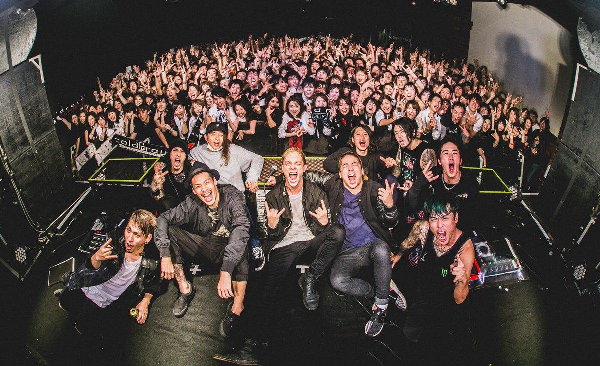 Thanks Kanazawa!!  【Photo Update】 https://t.co/yMCRs0y5XJ  #FATELESS JAPAN TOUR #coldrain  #survivesaidtheprophet  Photos by @tateyamaakun