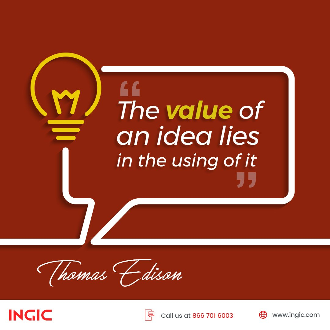So many great ideas go to waste due to lack of strategic planning and execution. INGIC makes sure your idea, no matter how big or small it is; transforms into a booming industry:  https:// goo.gl/dfSPGK  &nbsp;   #Business #Strategy #Ideas #Innovation #Quote #INGIC<br>http://pic.twitter.com/X7qwA2qmxQ
