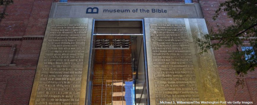 Museum of the Bible offers revelations, faces controversy as it opens. https://t.co/7J28rt1cNc https://t.co/27FHIK22Mp