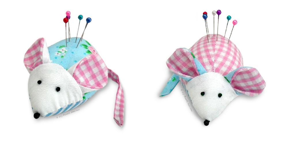 Cute #mouse pincushion #sewing pattern #handmade #flockBN. Sew easy!  https:// goo.gl/zgFlX2  &nbsp;    http:// myfabricheaven.com  &nbsp;  <br>http://pic.twitter.com/oLzre0IcTn
