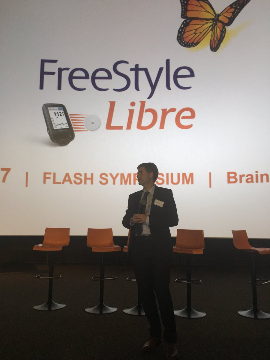 Prof De Block: Belgium was the first to get #Libre reimbursed for ALL w T1 #diabetes! Kudos  @ATTDconf @FreeStyleDiabet<br>http://pic.twitter.com/XT0YTe5zn8