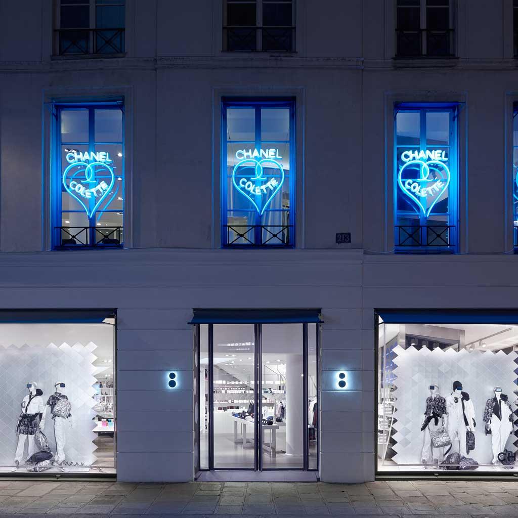 #Beaute #ELLEBeautySpot : le corner beauté de Chanel chez Colette https://t.co/x1eywq93e3