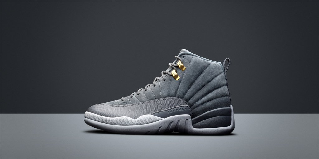The @Jumpman23 Air Jordan 12 'Wolf Grey'  Shop Men's 🇺🇸 https://t.co/IVVWNDJ7Ux