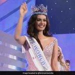 RT @ndtv: India's Manushi Chhillar wins #MissWorld...