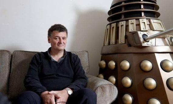 Happy Birthday, Steven Moffat!  Steven Moffat was born 18 November 1961 and today celebrates his 56th birthday.