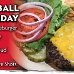 College Football Fever! Join the fun at DJ's Dugout & see all today's College Football matchups: Michigan vs Wisconsin at 11am, Nebraska vs Penn St at 3pm, LSU vs Tennessee at 6pm  & so much more!