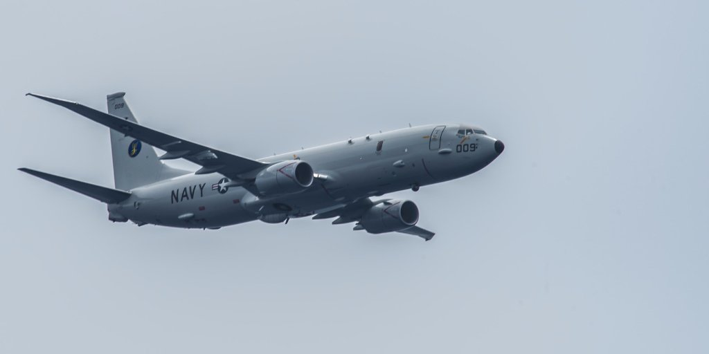 #USNavy P-8A Poseidon to support Argentina search for submarine - https://t.co/ZhW9eZt74c (File photo)
