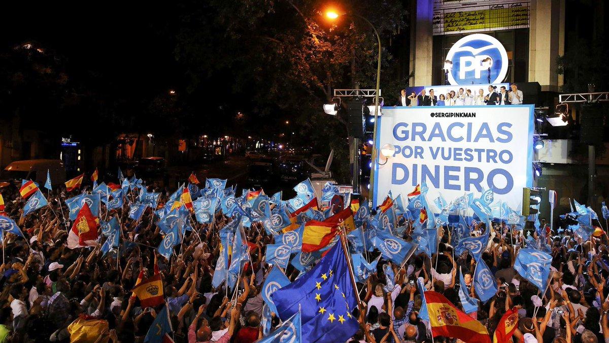 RT @sergipinkman: 💶 GRACIAS POR VUESTRO DINERO 💶 #LlibertatPresosPolítics #21D #Gürtel #cajaB #Bárcenas #marcaEspaña https://t.co/zjEk4adi5d