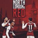 RT @EditsByRonan: North London is Red.  @Arsenal @...
