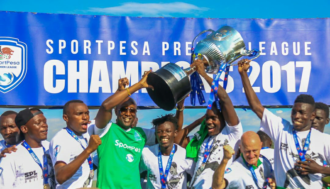 Well deserved, Gor Mahia! Here is to hoping there is better competition next season!  2017 @SportPesa Premier League #Champions #Kogalo<br>http://pic.twitter.com/wMWsiXxBpt