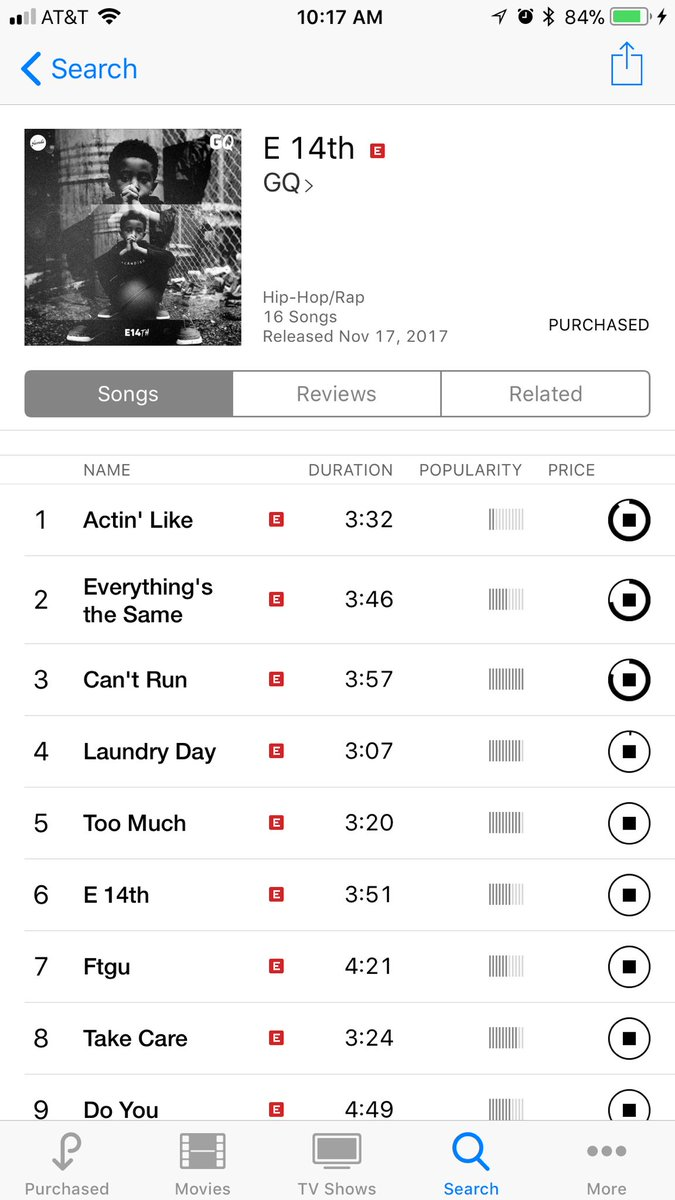 There's a lot of dope music out there. Just bought @TheTownGQ new album. Got @rapsody @ReubenVincent_ waiting on @StatikSelekt and @Evidence stop complaining and #support <br>http://pic.twitter.com/EdCPA1YexA