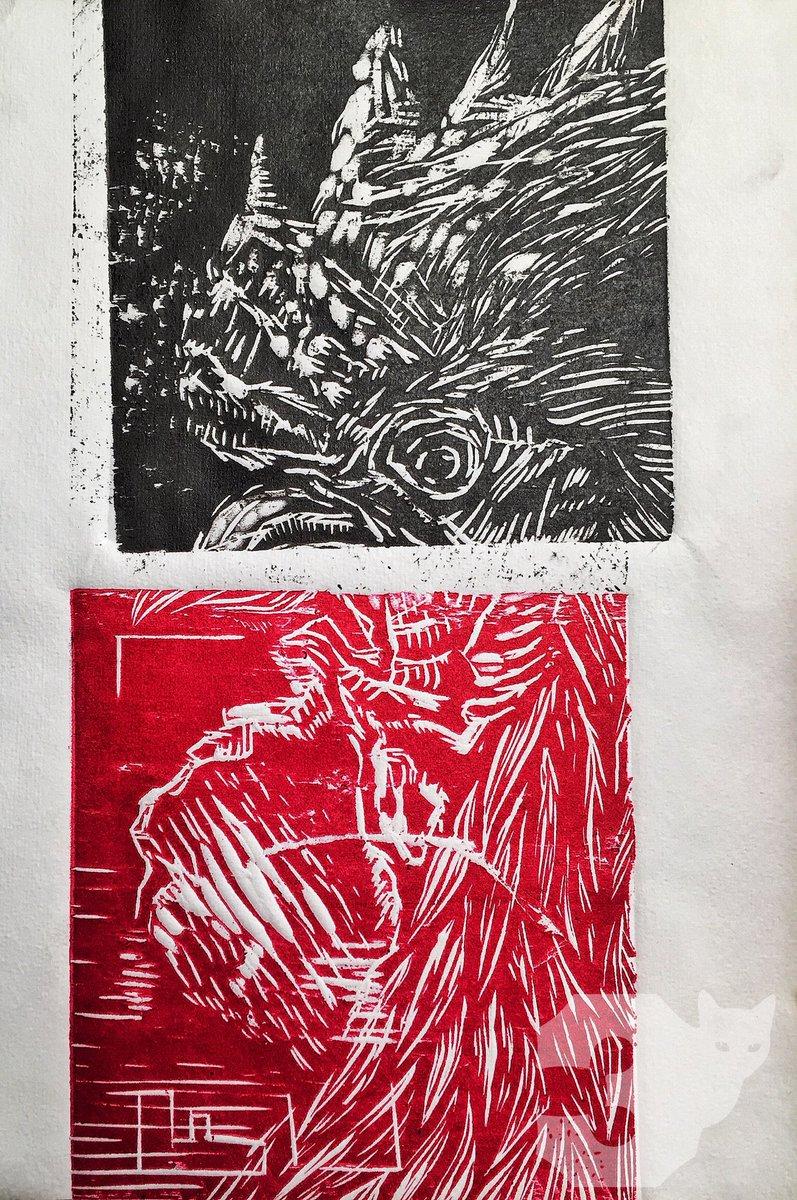 The strike-rooster. #rooster #black #red #ink #3gatospress #farm #woodcut #printmaking #workshop #sundays #grabado #xilografia #mexico #leon<br>http://pic.twitter.com/u9hmnFGSA9