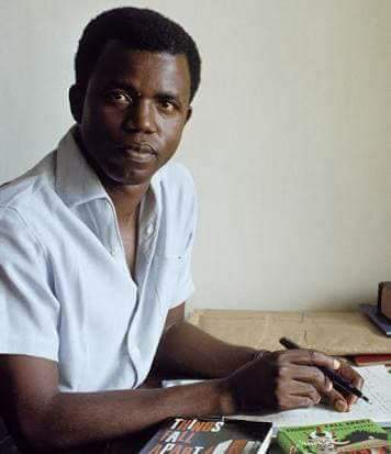 It is impossible for a writer to die. A happy 87th birthday, Sir! Chinua Achebe.