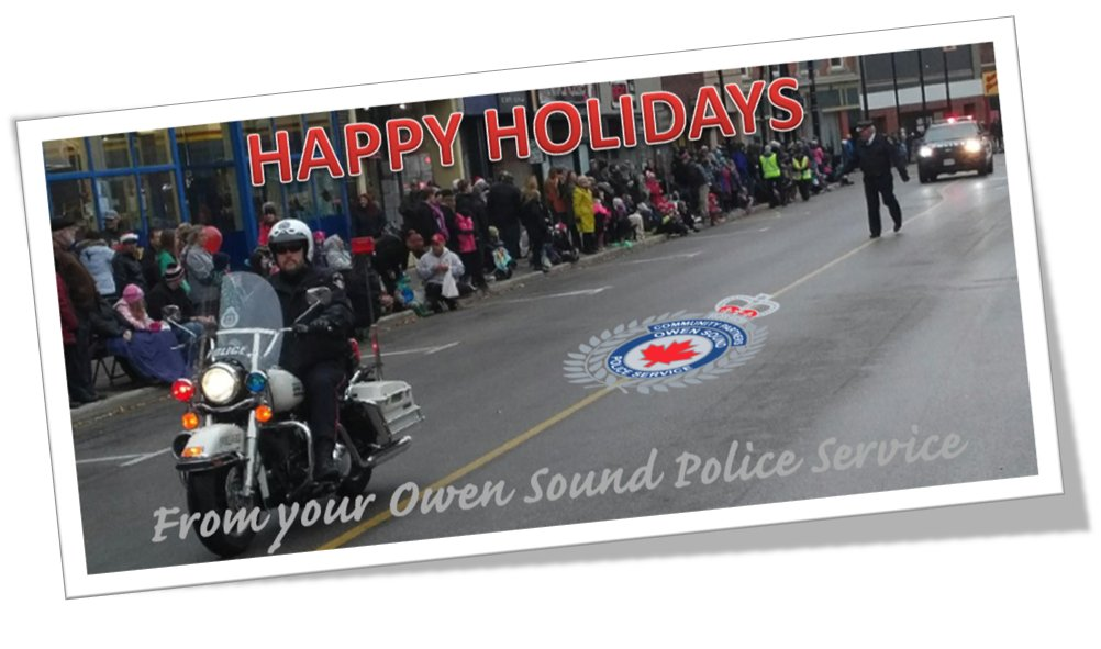 The #OwenSound #SantaParade is underway. For SEVENTY-TWO years, we have had the oldest running parade in the history of #Canada sponsored by the same organization @Kiwanis @kiwaniskids @CityOwenSound @ChiefSornberger @OSpoliceassoc<br>http://pic.twitter.com/ztKc54tL8Y