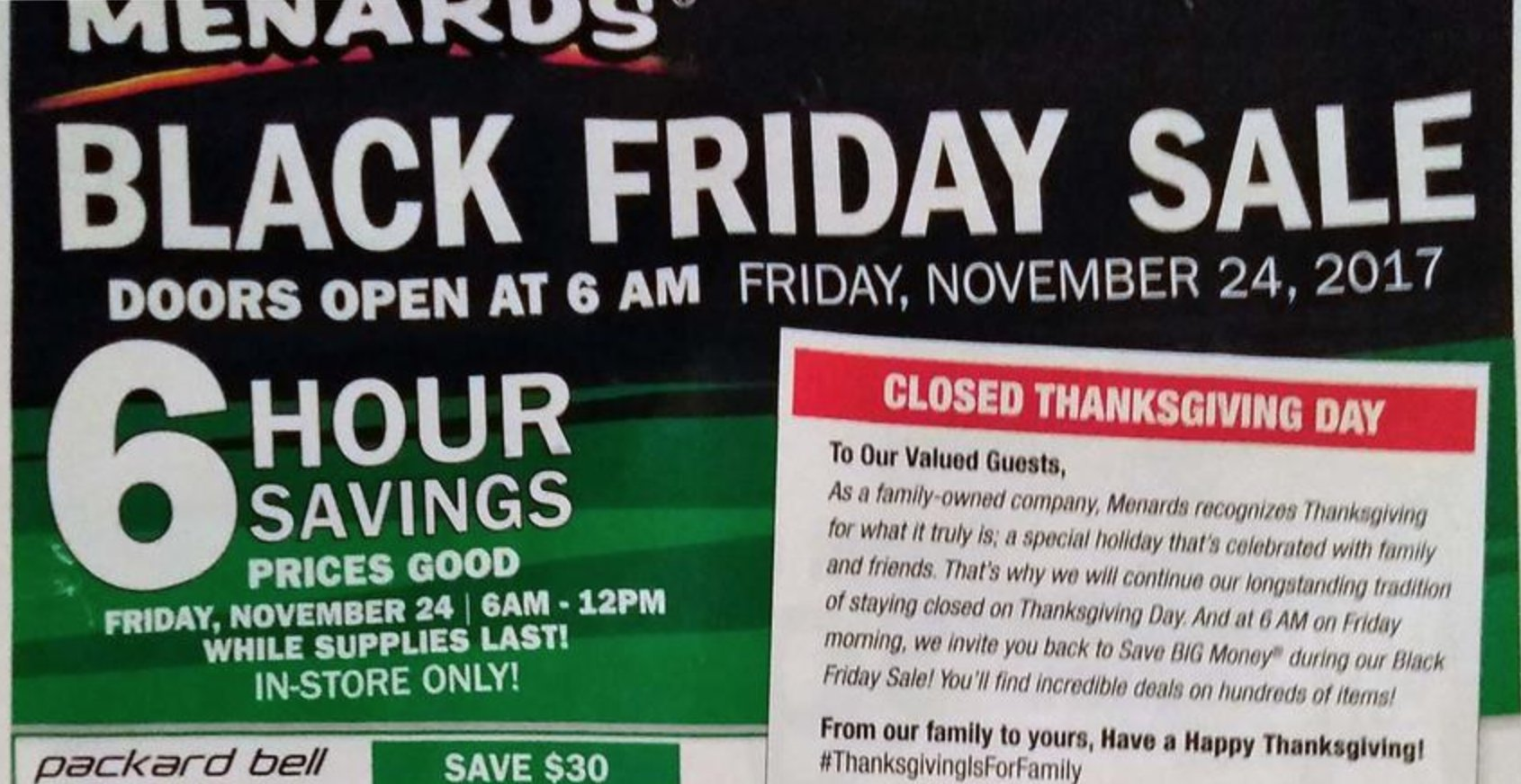 Black Friday Ads On Twitter We Just Leaked The Menards Blackfriday Ad Https T Co C46inhvsox