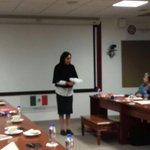 Karla Iberia Sánchez presenta el tema: Equipamient...