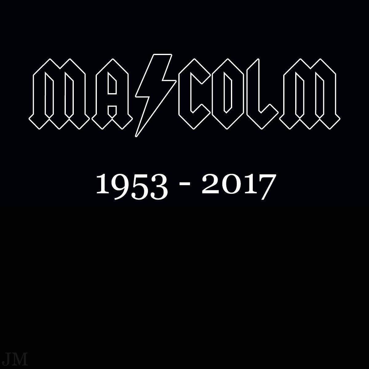 RIP Malcolm Young, one of the greatest rock guitarists of all time!  #ACDC #Legend #RIPMalcolm #saturdaymorning