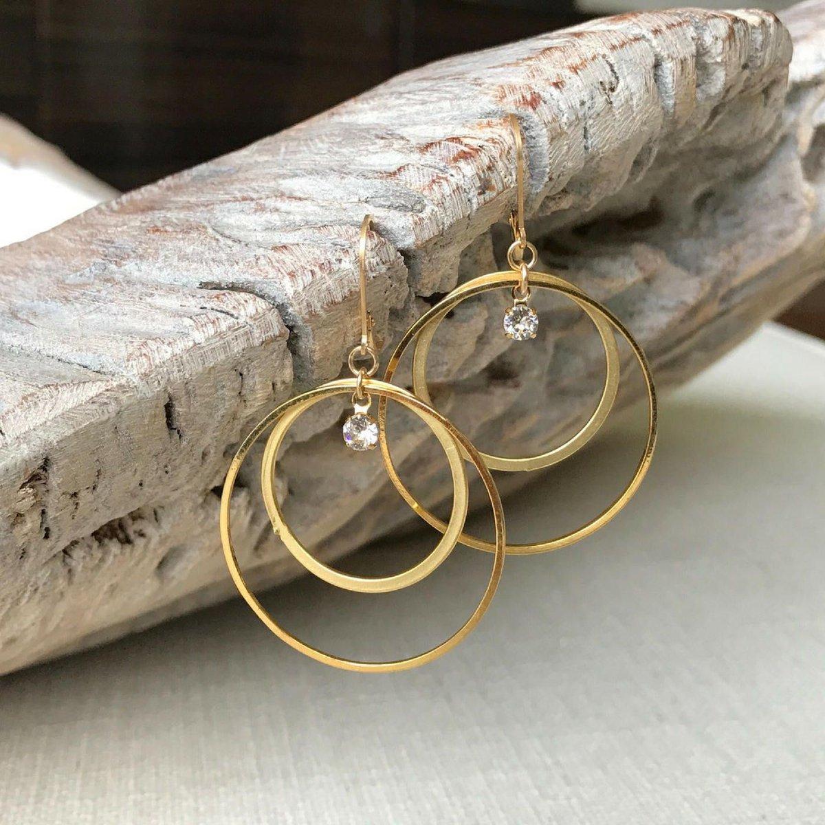 Large Gold Hoops  http:// bit.ly/2zNOdyG  &nbsp;   @etsy #snrtg #jewelry #gifts #momlife #epiconetsy #artisnabot #etsyaaa #boho #RTplease #bizrt #ATSocialMedia <br>http://pic.twitter.com/6ro47j8rAL