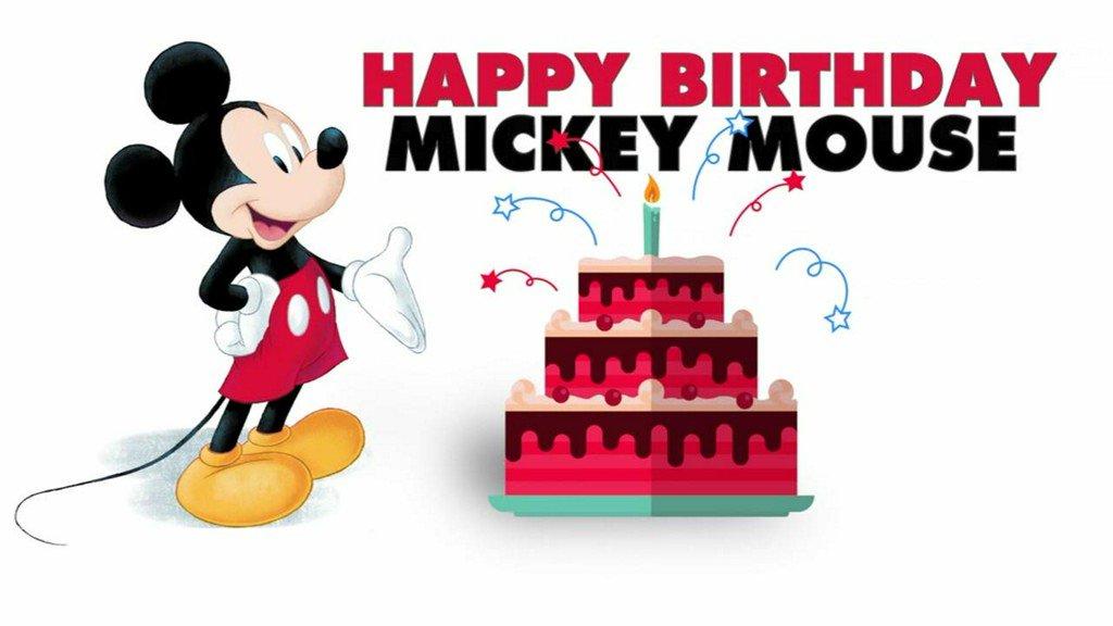Happy Birthday Mickey Mouse Scoopnestcom