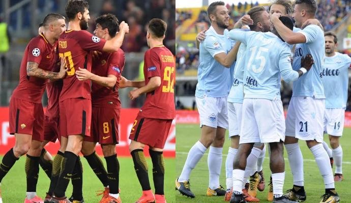 #Roma - #Lazio: Confirmed lineups &amp; live commentary #DerbyDellaCapitale #RomaLazio #SerieATIM #SerieA  --&gt;  http://www. calciomercato.com/en/news/roma-l azio-confirmed-lineups-and-live-commentary-65176 &nbsp; … <br>http://pic.twitter.com/jkeuQ1IqRm