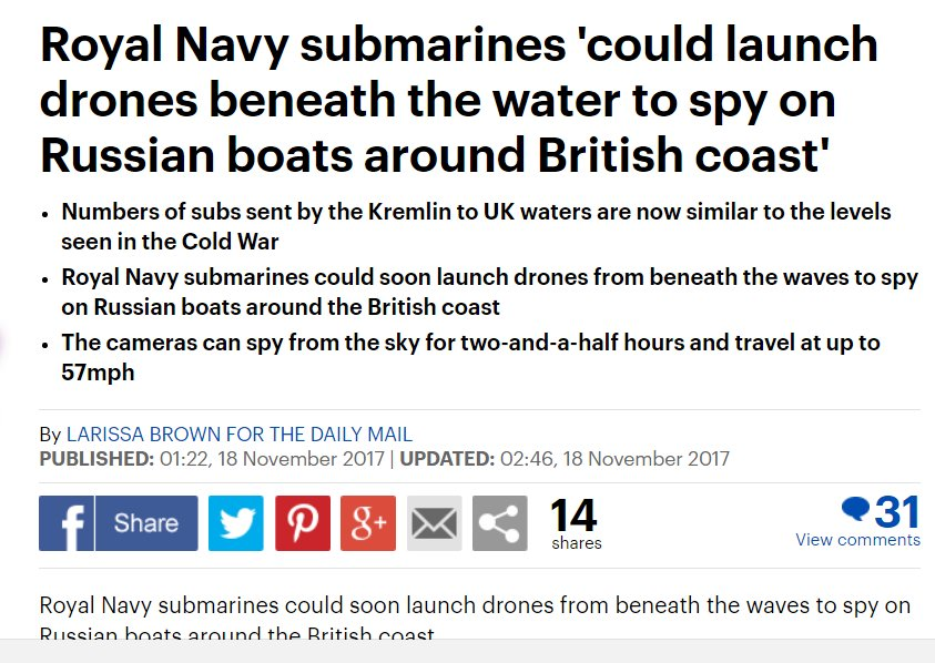 .@MailOnline: Congratulations. Exaclty the toy one needs before the military budget-2018  is decided upon. Now there is no need to be underwater.