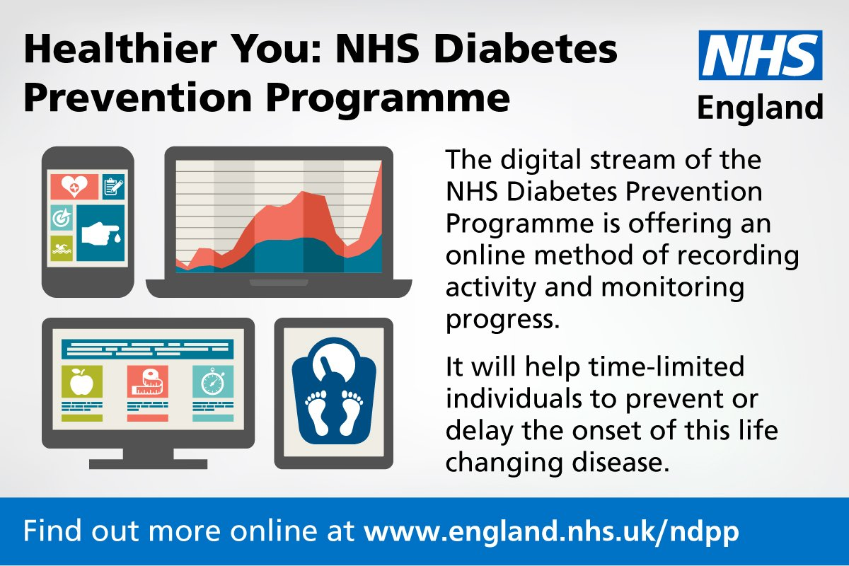 Thousands of people set to access #diabetes and #obesity prevention services. @NHSEngland and @DiabetesUK have teamed up with leading companies from the tech sector as the battle against obesity and #Type2 diabetes goes digital:  http:// ow.ly/3HlD30gxA58  &nbsp;  <br>http://pic.twitter.com/yuIDIoHDKa