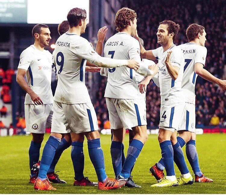 Great game  Strong team! C'on Chelsea!  • • #WBACHE #CFC #Chelsea <br>http://pic.twitter.com/DDE24GJPEw