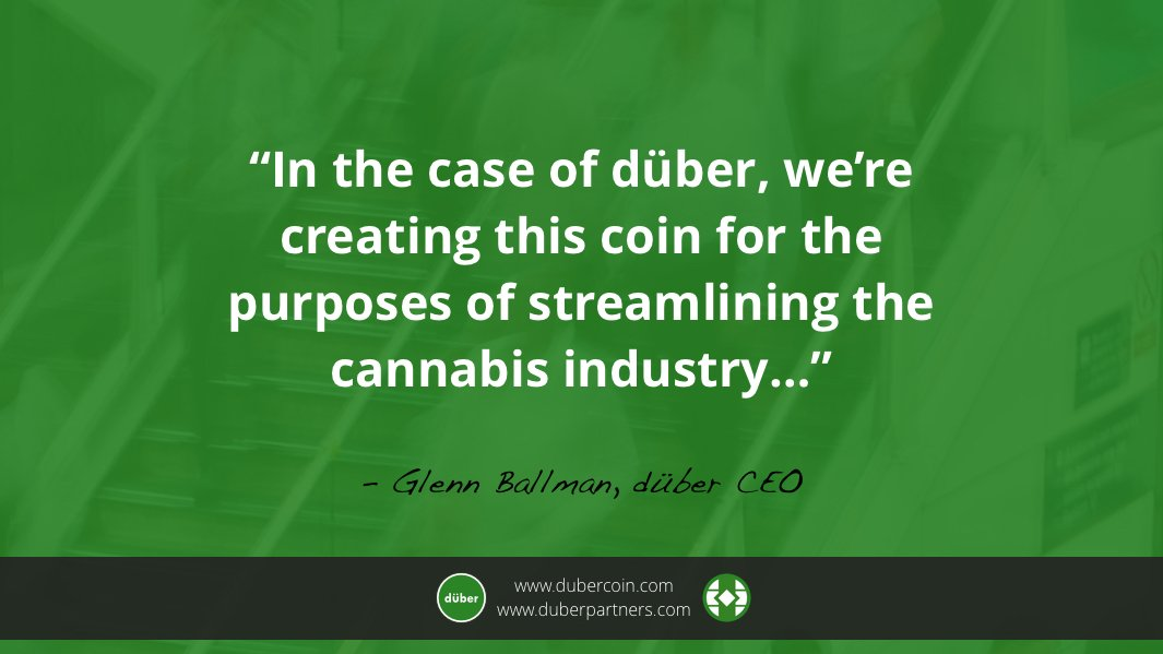 düber CEO Glenn Ballman recently sat down with iHeart Radio to talk about blockchain technology, the cannabis industry, and what we&#39;ve got up our sleeves.  #duberICO #blockchain #cannabis @iHeartRad  http:// ow.ly/ZKUC30gEtRD  &nbsp;  <br>http://pic.twitter.com/5IMNFcVNxL