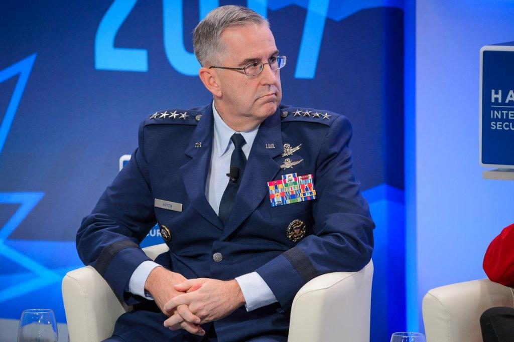 The top U.S. nuclear commander says he would push back against President Trump if the president ordered a nuclear strike he believed to be 'illegal' https://t.co/TnZGZWmeXp