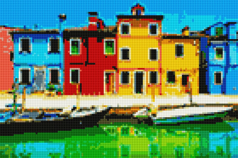 #institch OMG! It's time to cross-stitching on your phone!早か