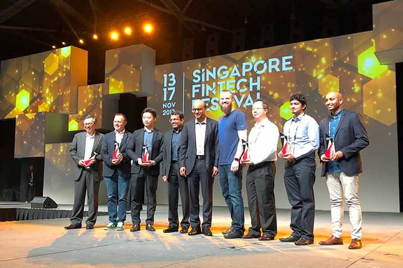 Global #FinTech #Hackcelerator and 2017 FinTech #Award winners announced at #Singapore #FinTechs Festival  http:// bit.ly/2hKSRqr  &nbsp;   #innovation #payments #blockchain #KYC @FlywireCo @MoxtraHQ @sqmediabuying @trunomi #GDPR #privacy #DataManagement @TunstallAsc @helene_wpli @MAS_sg<br>http://pic.twitter.com/ze1spvOHLg