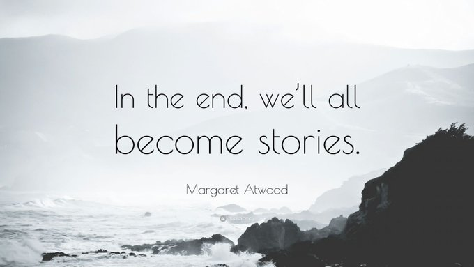 Happy Birthday to American novelist, Margaret Atwood (1939).