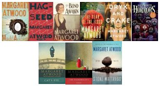 Happy 78th birthday Margaret Atwood! Check out one of her books today!