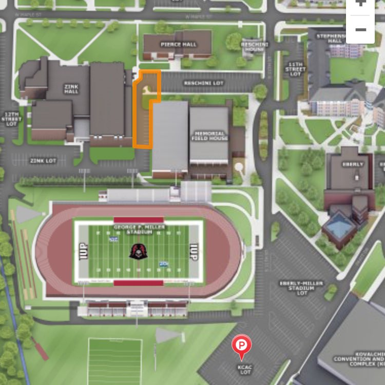 map of iup campus Iup Athletics On Twitter Basketball Parking Today Will Be Limited With Multiple Events On Campus Games At The Memorial Field House Parking In The Eberly Lot Come Early Iup Map Https T Co Jik6mifxi4 map of iup campus