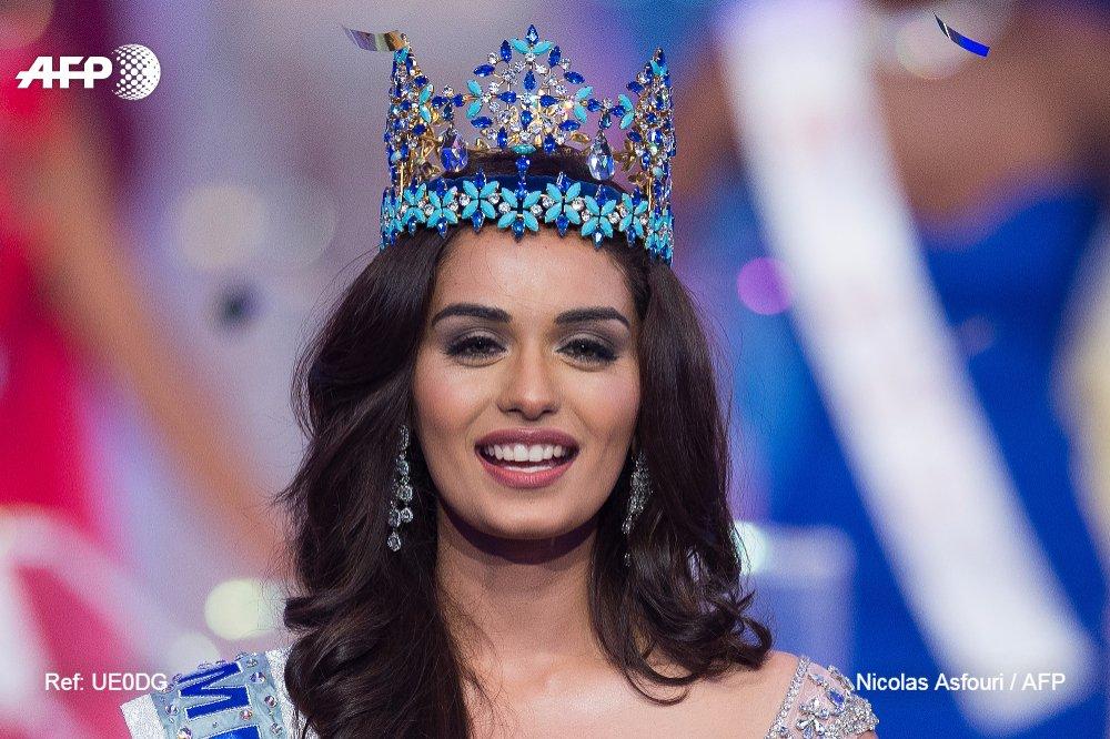 Une étudiante indienne sacrée Miss Monde, faisant de l'Inde le pays le plus titré du concours https://t.co/XvrN36hVOy #AFP